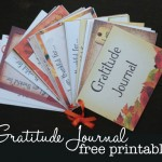 FREE Printable Gratitude Journal {Plus Project Ideas}