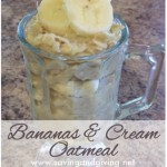 Bananas & Cream Oatmeal
