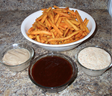 Sweet Potato Fry Dipping Sauces {Spicy Ranch, Sweet Barbecue ...