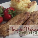 Teriyaki Marinade Grilled Chicken