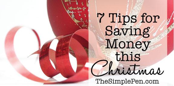 7 Tips for Saving Money this Christmas