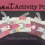 Advent Activity Pockets {Countdown to Christmas}