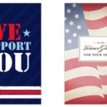 Card to Support Our Troops