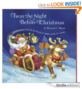 Twas the Night Before Christmas Free Kindle Book