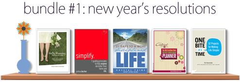 New Year's Resolution Ebook Bundle