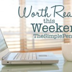 Articles Worth Reading this Weekend