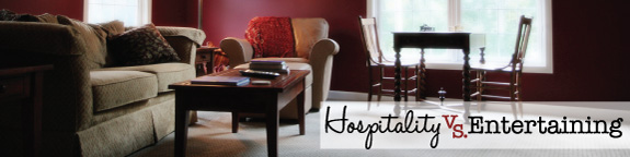 Hospitality vs Entertaining