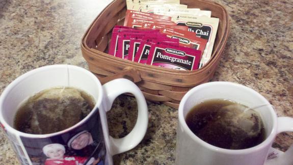 Bigelow Tea Brewing