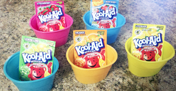 Coloring Easter Eggs with Kool-Aid