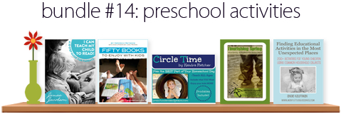 Preschool Activity Books