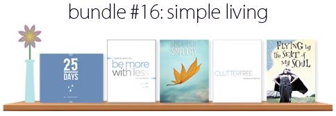 Simple Living Ebook Bundle