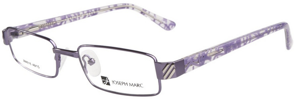 Joseph Marc Purple Glasses