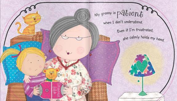 Princess Bible Purse Pages