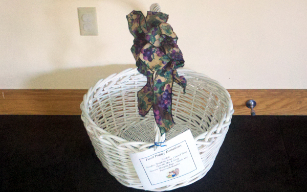 Food Pantry Donation Basket
