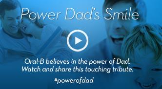 Power Dad's Smile Oral-B