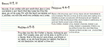 Scripture Memorization Method