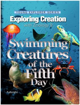 Swimming Creatures of the Fifth Day Science Book