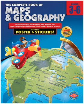 The Complete Book of Maps and Geography Book