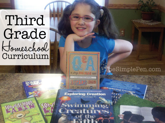 Third-Grade-Homeschool-Curriculum-2013