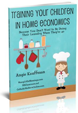 Training Your Children in Home Economics