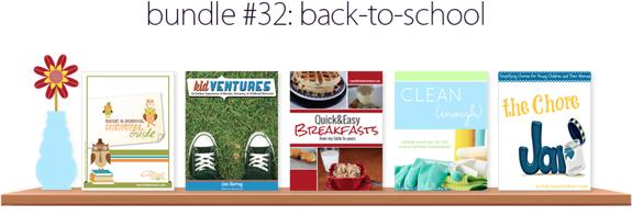 Back-to-School Ebook Bundle