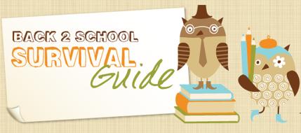 Back to School Survivial Guide Ebook