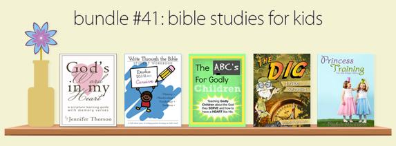 Bible Studies for Kids Ebook Bundle