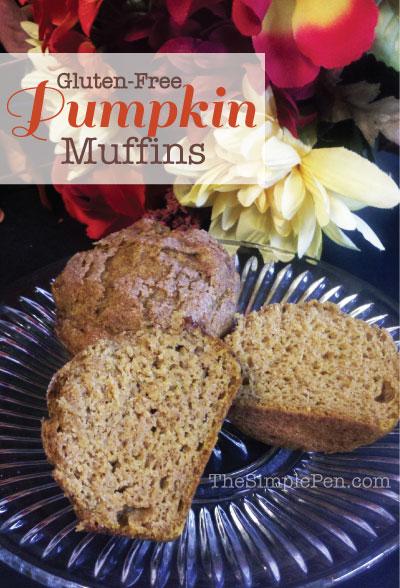 Gluten-Free Pumpkin Muffins | TheSimplePen.com