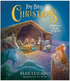 Itsy Bitsy Christmas Book