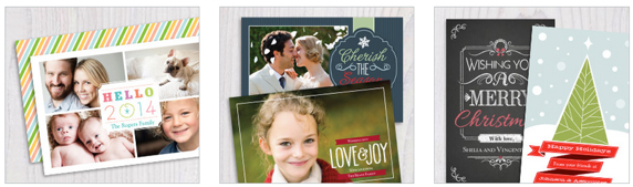 Vistaprint Christmas Card Sale