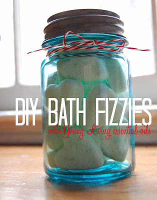 Bath Fizzies with Essential Oils