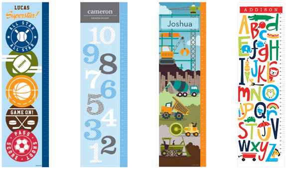 Boys Growth Charts from Petite Lemon