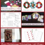 Christmas Printables Roundup {Nativity Dolls, Ornaments, Puzzles & More}