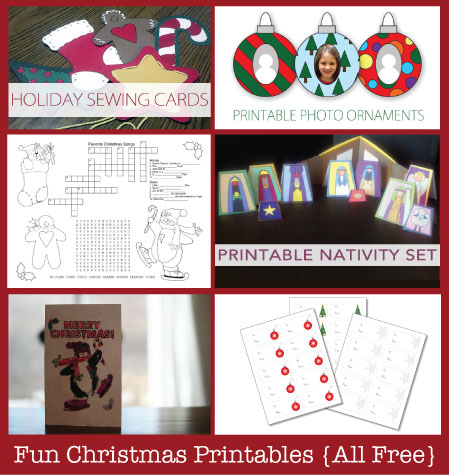 Free Christmas Printables | TheSimplePen.com