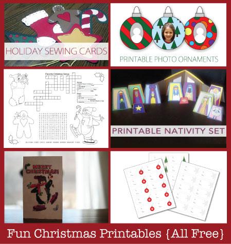 Free Christmas Printables   TheSimplePen.com