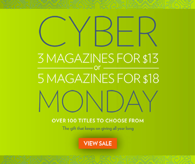 Discount Mags Cyber Monday Sale