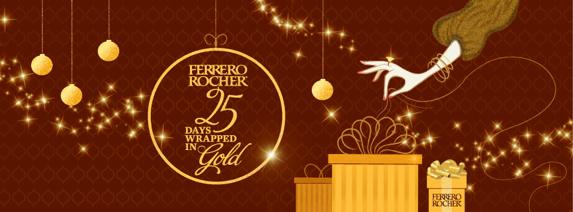 Ferrero Rocher 25 Days Giveaway