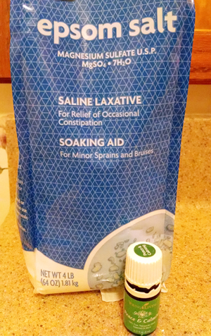 Epsom Salt Peace and Calming Soak
