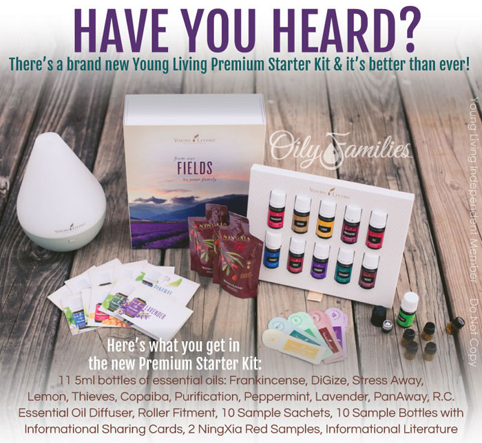 Young Living's New Premium Starter Kit || TheSimplePen.com
