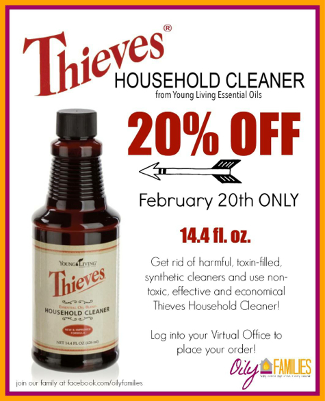 Thieves Household Cleaner on Sale Today