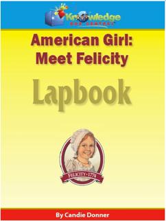 Felicity Lapbook Sale