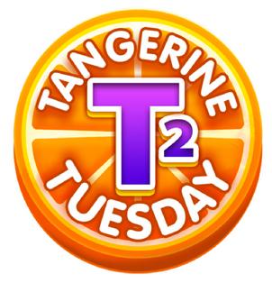 Tangerine Tuesday