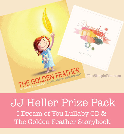 I Dream of You & The Golden Feather Prize Pack || TheSImplePen.com