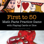 First to 50: Fun Math Fact Practice Game