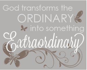 Ordinary Extraordinary Printable