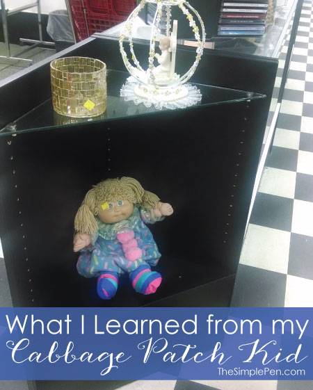 What I Learned from My Cabbage Patch Kid | TheSimplePen.com