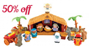Fisher-Price Nativity Set 50% Off