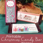 Christmas Candy Bar Wrappers {Easy Gift}