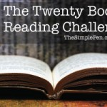 20 Book Reading Challenge || TheSimplePen.com