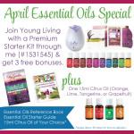 April Essential Oils Sale